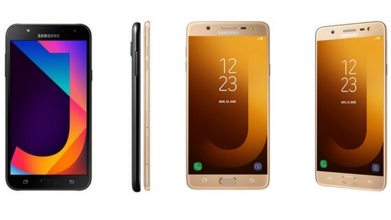 Samsung Galaxy J7 Max and Samsung Galaxy J7 NXT