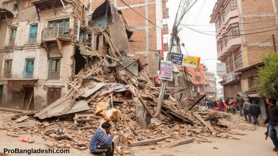 Earthquake in Bangladesh