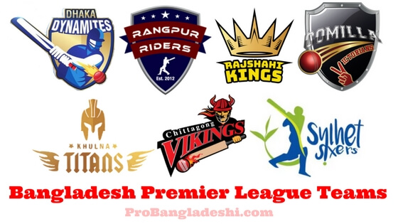 Bangladesh Premier League Teams