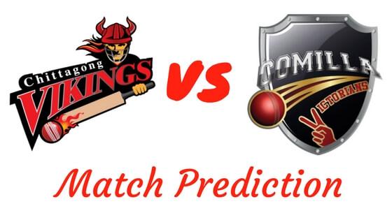 Chittagong Vikings vs Comilla Victorians Match Prediction