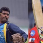 Chris Gayle and Thisara Perera