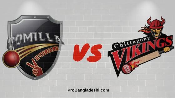Comilla Victorians vs. Chittagong Vikings Match Prediction
