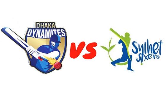 Dhaka Dynamites Vs. Sylhet Sixers Match Prediction