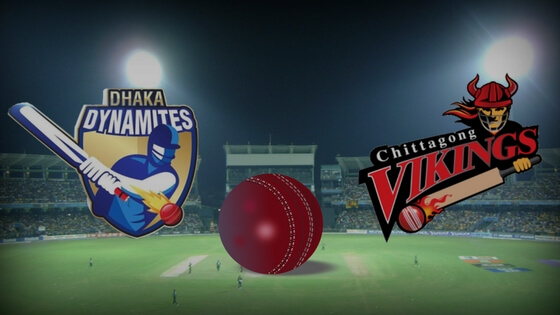 Dhaka Dynamites vs. Chittagong Vikings Match Prediction