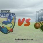 Dhaka Dynamites vs. Comilla Victorians Match Prediction