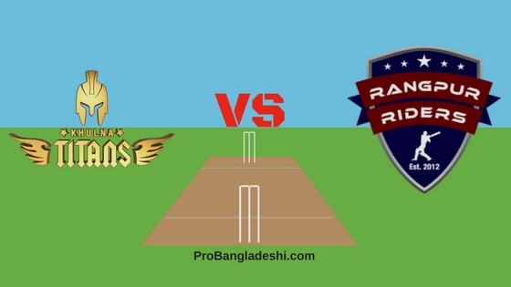 Khulna Titans vs. Rangpur Riders Match Prediction