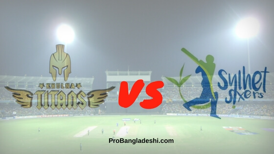 Khulna Titans vs. Sylhet Sixers Match Prediction