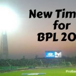 New Timing for BPL 2017