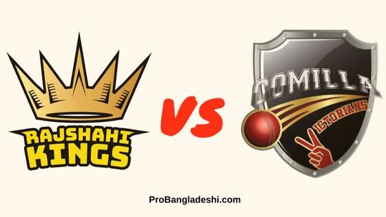 Rajshahi Kings vs. Comilla Victorians Match Prediction