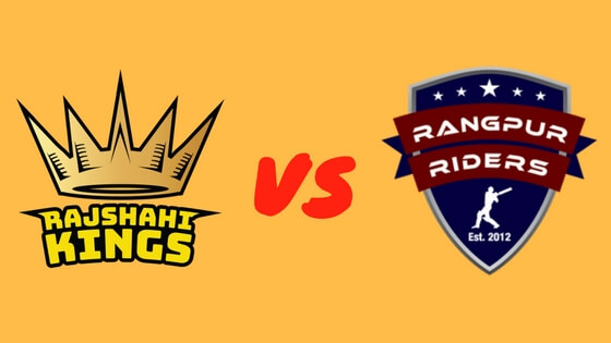 Rangpur Riders Vs. Rajshahi Kings Match Prediction