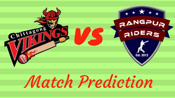 Rangpur Riders vs. Chittagong Vikings Match Prediction