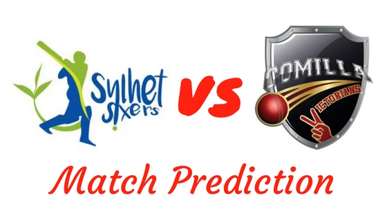 Sylhet Sixers vs Comilla Victorians Match Prediction