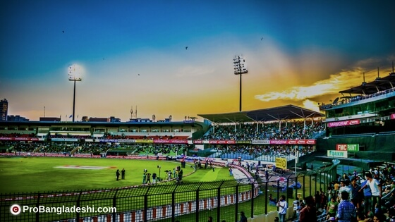 Sylhet Sixers vs. Khulna Titans Match at Sylhet International Cricket Stadium