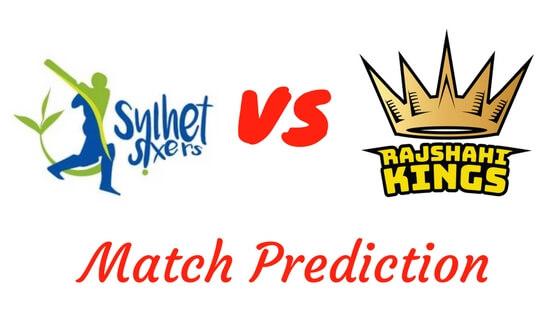 Sylhet Sixers vs. Rajshahi Kings Match Prediction