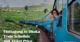 Chittagong to Dhaka Train Schedule and Ticket Price