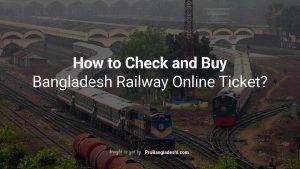 Bangladesh Railway Online Ticket