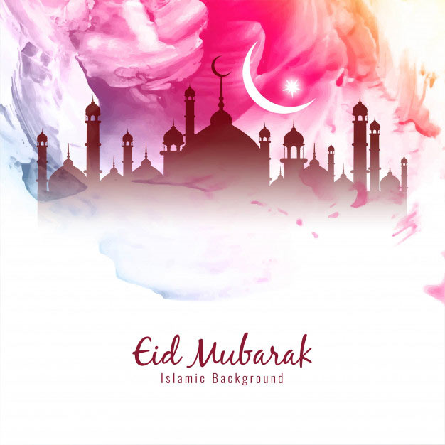 Colorful Eid Mubarak Wishes