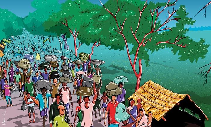 victory day of bangladesh art