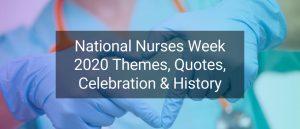 National Nurses Week Theme