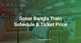 Sonar Bangla Train Schedule