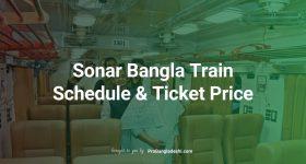 Sonar Bangla Train Schedule