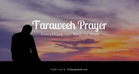 Taraweeh Prayer