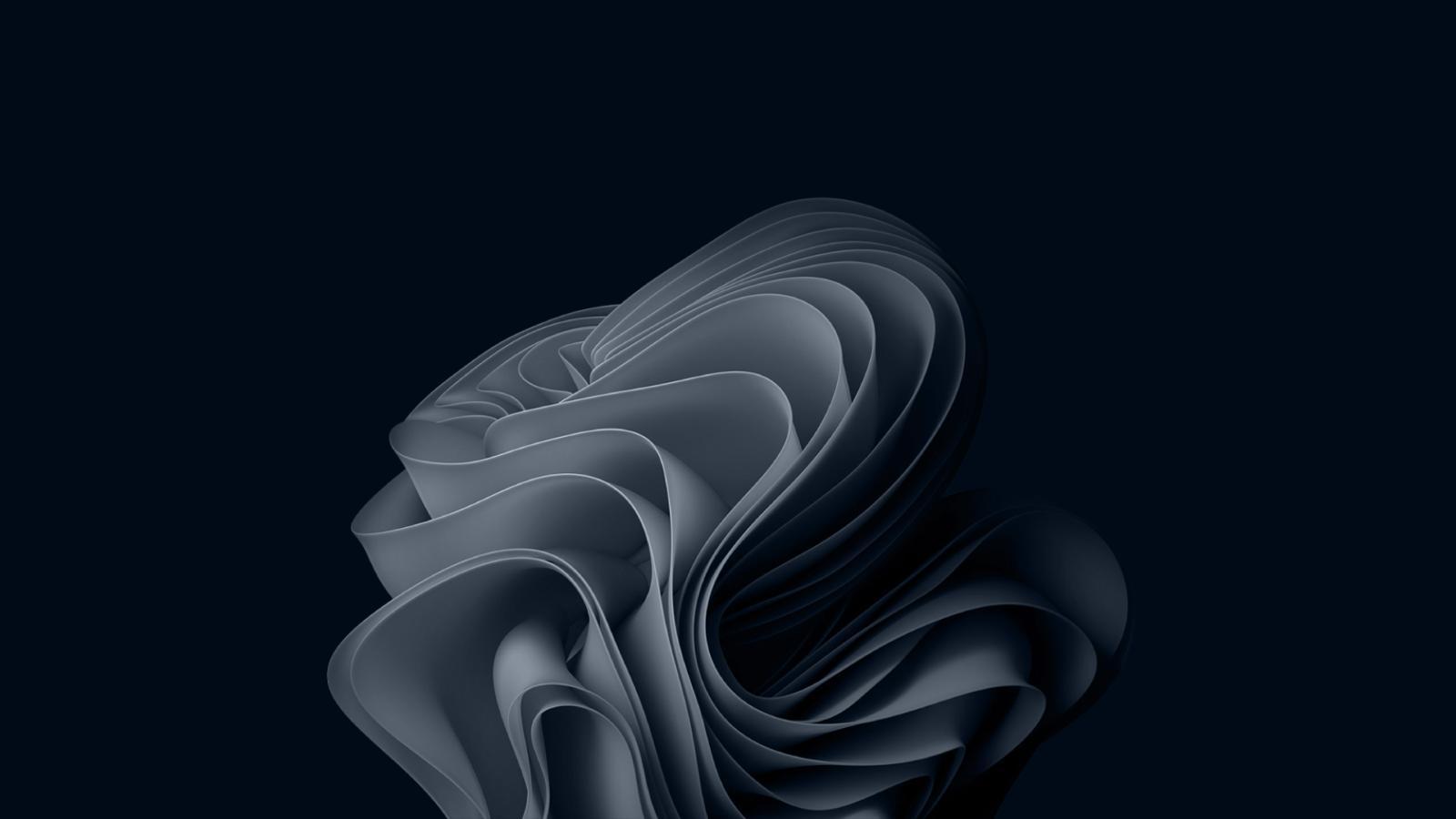 Windows 11 Wallpaper Dark Blue Grey